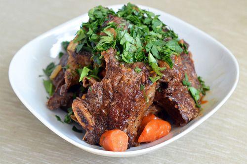 Pressure Cooker Porcini and Tomato Beef Short Ribs | Award-Winning Paleo Recipes | Nom Nom Paleo