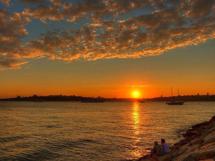 Istanbul Gün Batımı