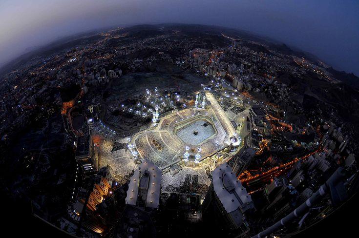 An Aerial View of Makkah.