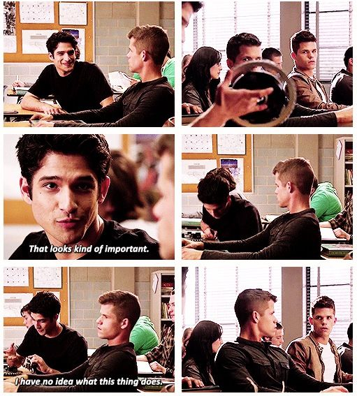 Teen Wolf - Scott and Alpha Twins (I have no idea was this thing does) (Tyler Posey, Charlie and Max Carver)
