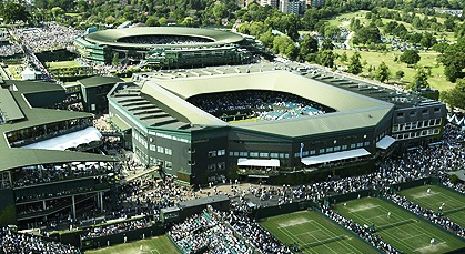 The All England Lawn Tennis Club grounds