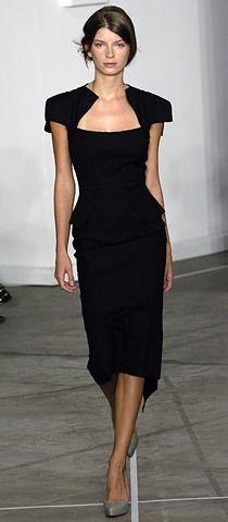 Roland 2013 ~ strong, bold, clean lines yet still feminine & elegant