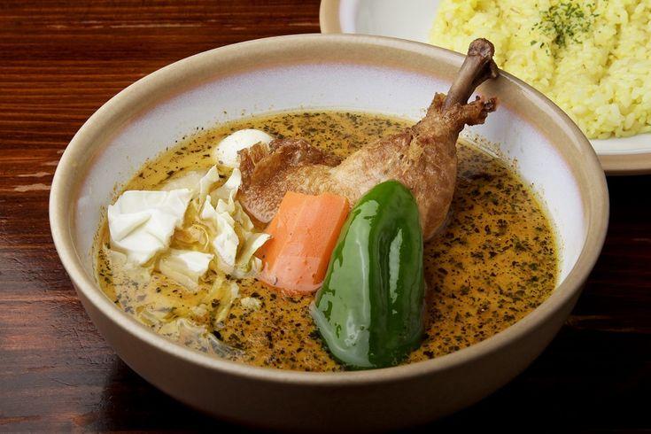 日本人のごはん/お弁当 Japanese meals/Bento 札幌でスープカレー、北国発の人気グルメ