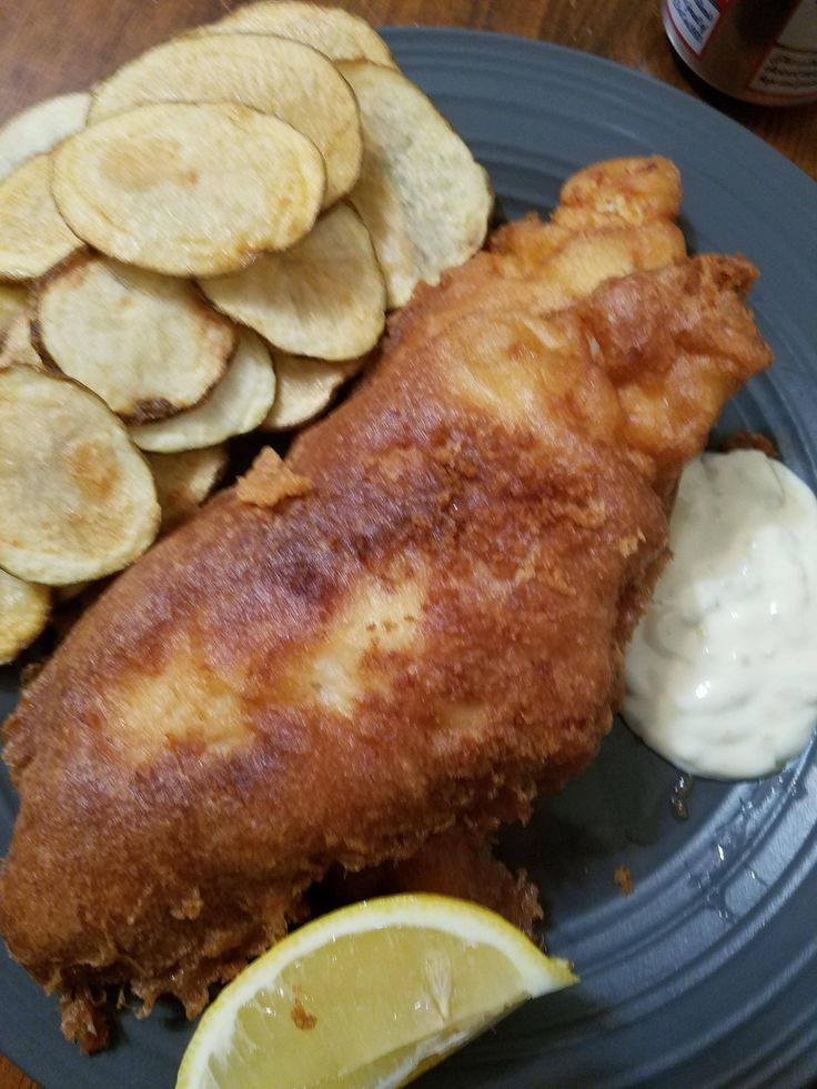 Late grandpa's beer battered catfish and chips #tonightsdinner #nofilter #homemade #yummy #veggie #topchefs