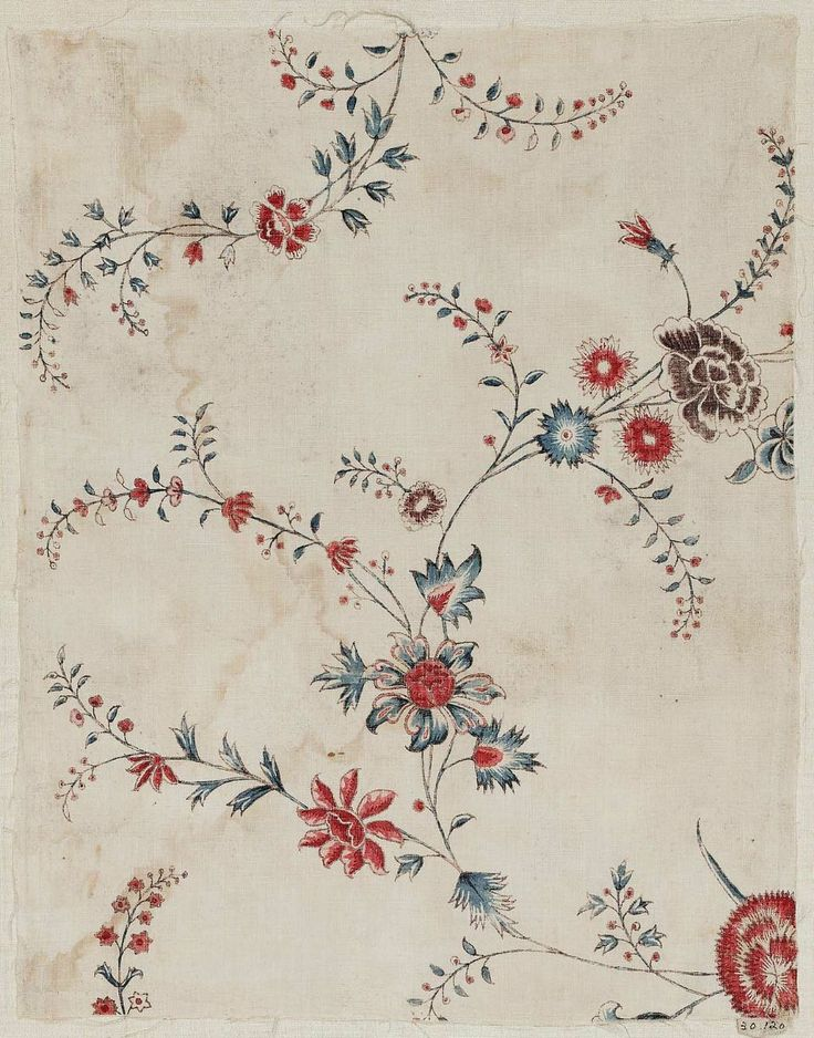 Fragment Indian, 18th century