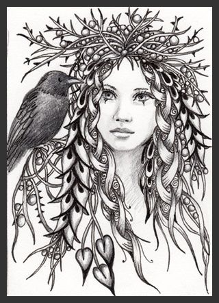 Pagan Adult Colouring Pages                                                                                                                                                      More