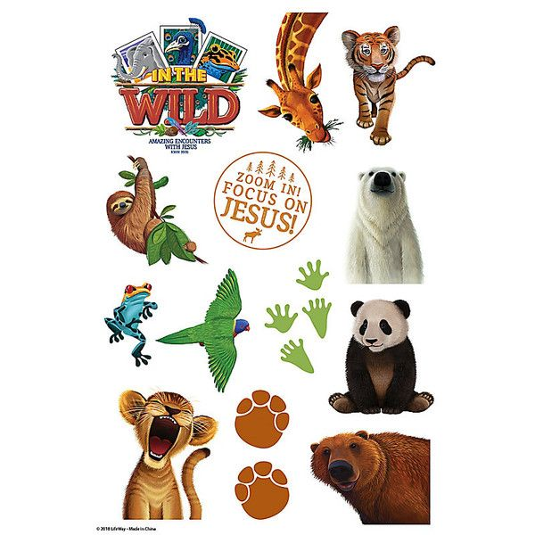25+ In The Wild Vbs 2019 Animals Clipart Templates