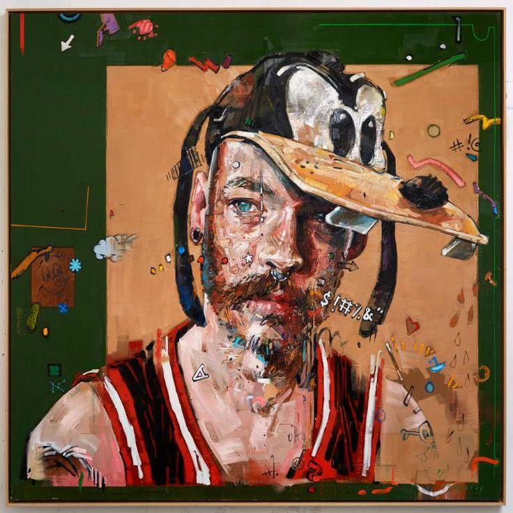 "Andrew SALGADO (Canadian: 1982) - ""Freakazoid"" #art"