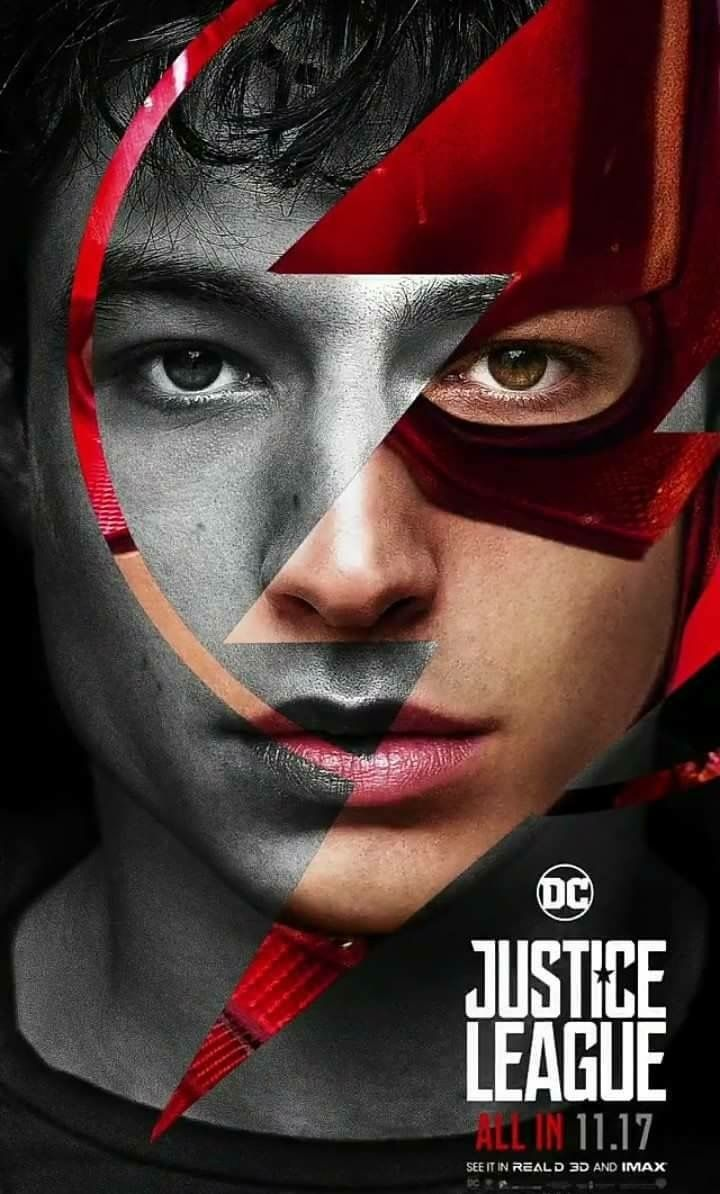 DC Comics Upcoming Movie Justice League Ezra Miller as The Flash