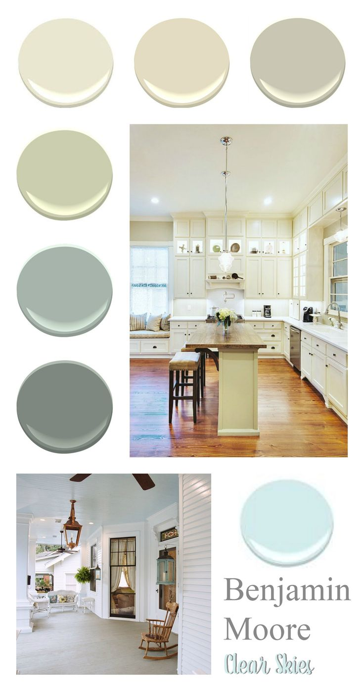 Southern Home Paint Color Palette