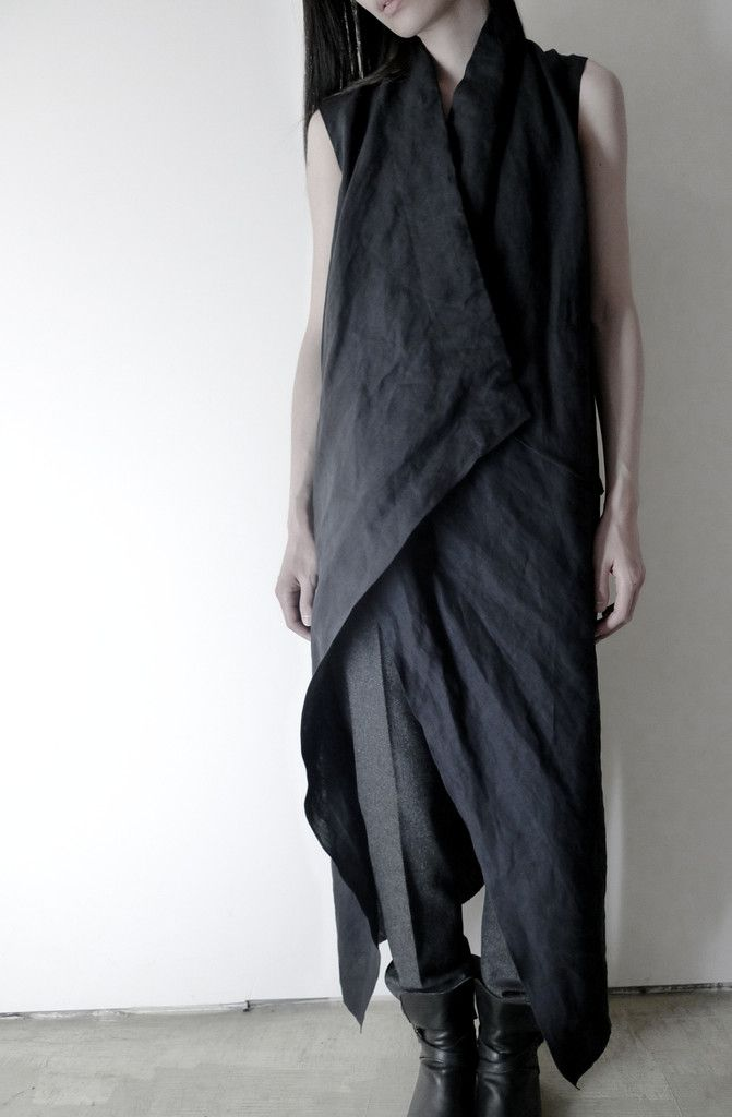 This looks simple to make.. LOVE linen