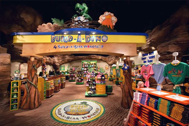 Day 154!!! Back at Disney Springs today!! Nestled within the T-Rex cafe is Build-a-Dino!! A variation on the ever popular Build-a-Bear stores! Looks like so much fun!!