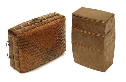 Antique Japanese Obento-Bako (Lunch Box)