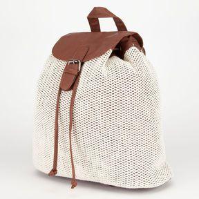 Crochet Overlay Backpack on shopstyle.com