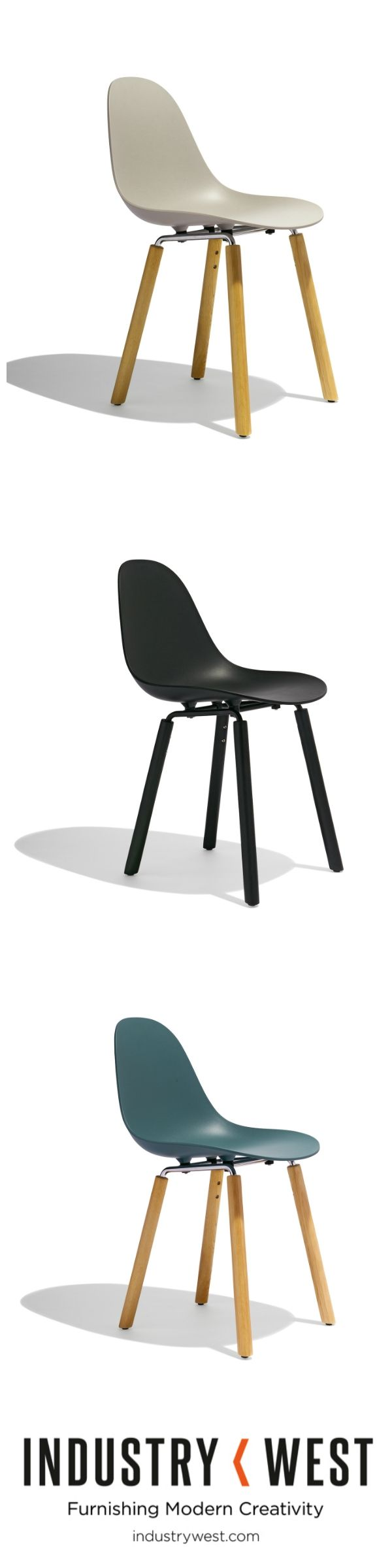 Pre-order Today for March Delivery! The TA Side Chair from TOOU offers an elegantly simple answer to the demand for ergonomics and aesthetics and invokes an absolute contemporaneity. Available in a wide variety of solutions, its strength lies in this flexibility. A solid, flowing and sinuous shell for completion with four curved metal tubular bases with wooden elements, characterized by essential design.