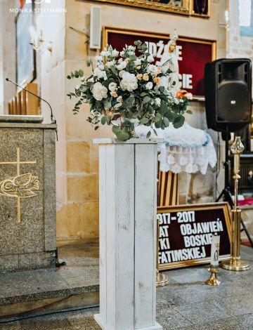 Dekoracje ślubne Kościoła Bydgoszcz Toruń Inowrocław