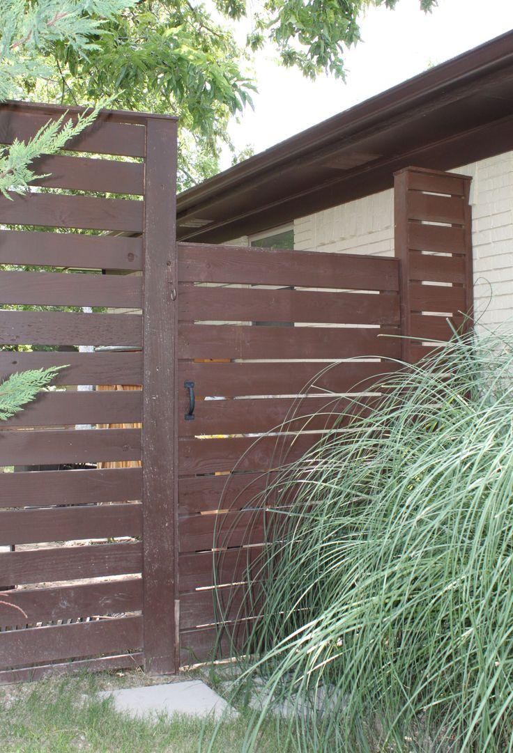 Privacy screen for chain link fence sears - Posts About Modern Horizontal Fence Written By James
