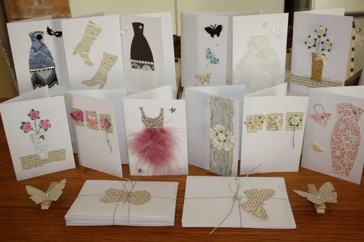 My handmade cards