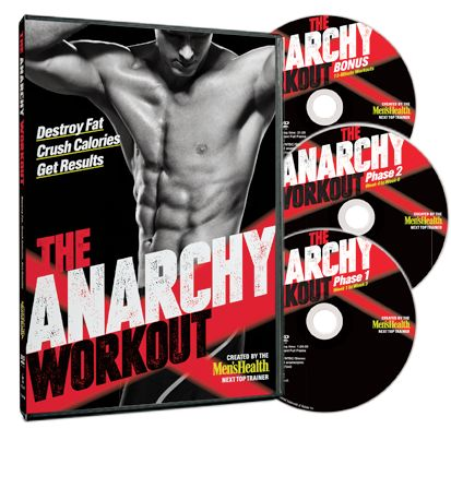 THE ANARCHY WORKOUT. Lose Your Spare Tire!  ... but everyone needs a spare tire ... or am I confusing this with something else.