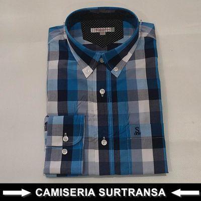 Camisa Cuadros Surtransa 580