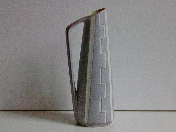 1961 Vintage West German Scheurich Keramik Ceramic Handled
