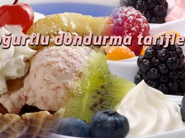 Yoğurtlu Dondurma Tarifleri