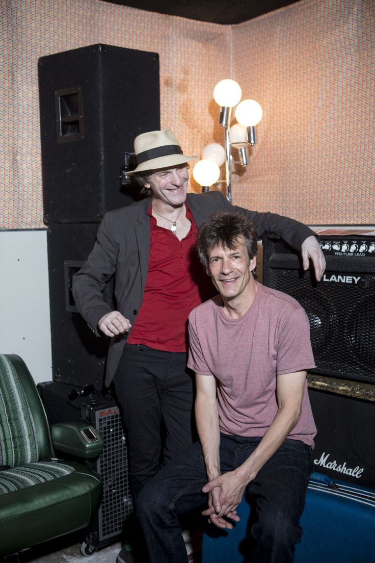 Paul Westerberg and Tommy Stinson shot by Ackerman & Gruber for US Rolling Stone September 25th 2014.