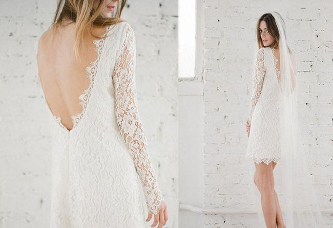 O vestido de noiva certo para vossa cerimónia civil. Modelo Mya, Rime-Arodaky.