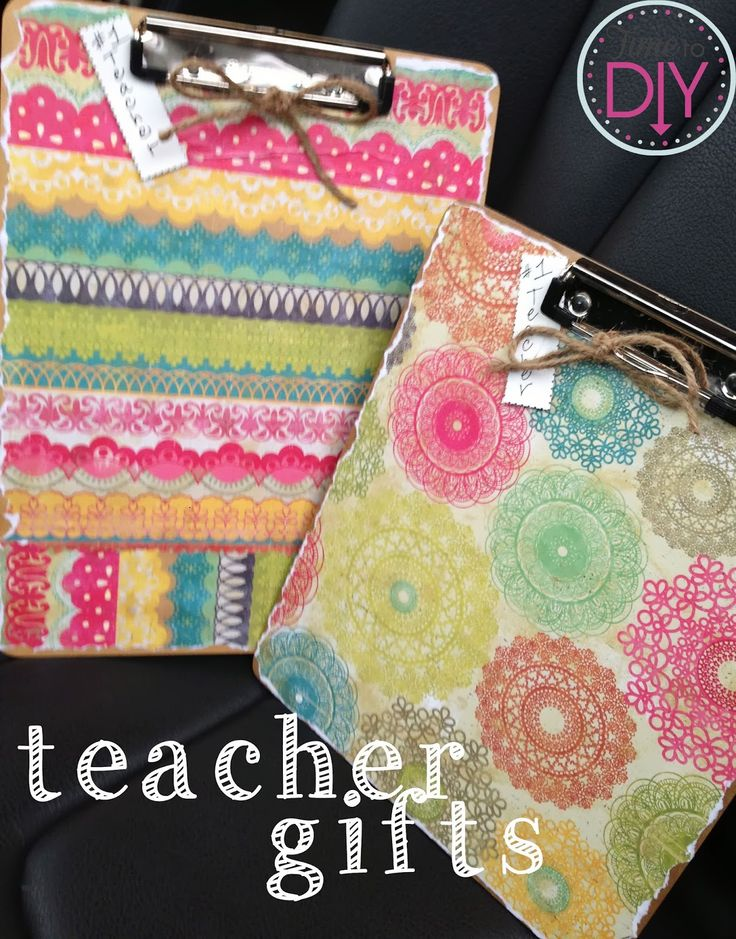 time to diy teacher gift ideas elementary to high school teachers shared their faves. Black Bedroom Furniture Sets. Home Design Ideas
