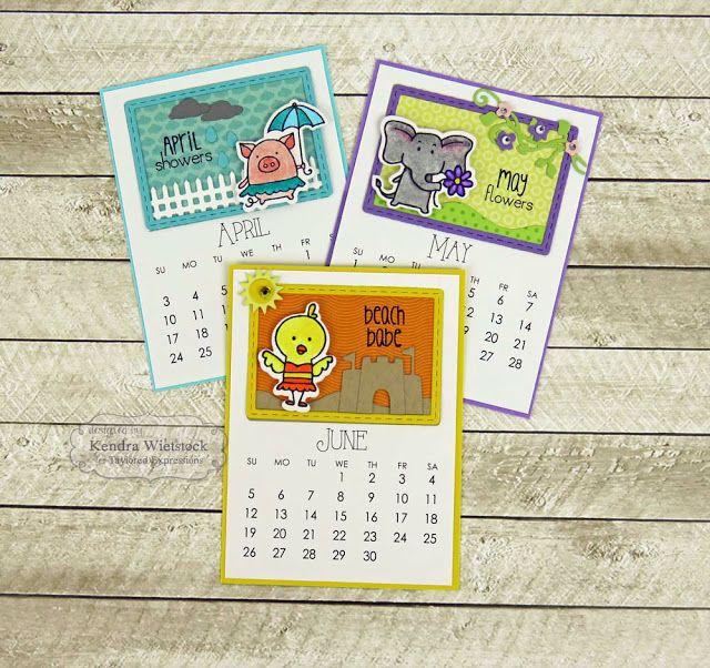32 best Calendar Critters images on Pinterest Calendar - how to create your own calendar
