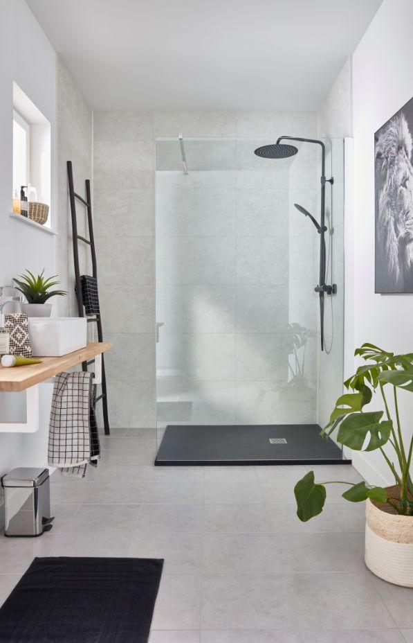 Carrelage Sol Gris 30 X 30 Cm Cimenti Vendu Au Carton Idee Deco Appartement Carrelage Sol Carrelage