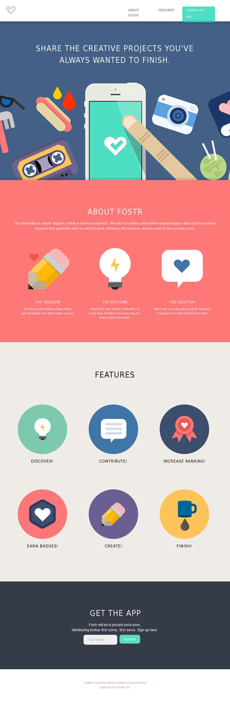 Flat web design... Interesting concept that I'm waiting to see roll out.
