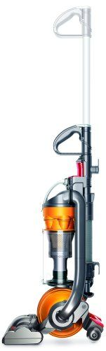 Dyson DC24 Ball All-Floors Upright Vacuum Cleaner Upright vacuum cleaner with Dyson Ball technology for smooth steering. Root Cyclone technology ensures no clogging or loss of suction. Effective for all floor types; motorized brushbar; reversible wand. HEPA filter; certified asthma friendly; collapsible handle for compact storage. Measures 13-2/3 by 11 by 43-2/7 inches; 5-year parts-and-labor warr... #Dyson #Home