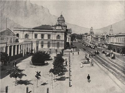 CAPE TOWN. Adderley Street Commercial Exchange Standard Bank. South Africa, 1895