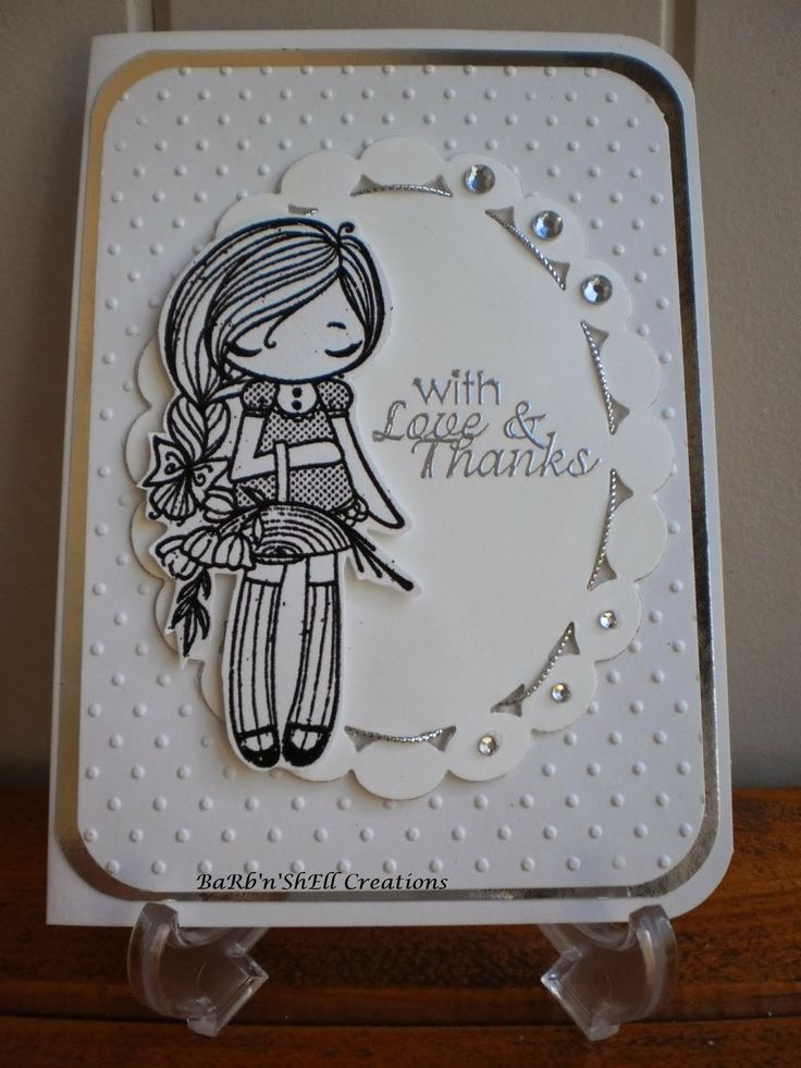 Miss Anya Collection - The Greeting Farm - Bridesmaid Thank-You Card - made by Shell