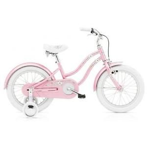 Electra-Cruiser-Hawaii-Kids-1-Gang-pink-Kids-Girls-16-Zoll-Beachcruiser-Maedchen