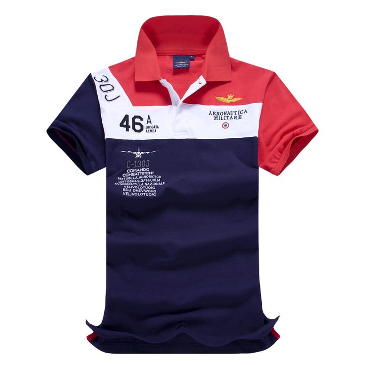 Best 2016 Air Force One High Quality Embroidery Men s Aeronautica Militare Men Shirts Brand Polos Diamond. Click visit to read descriptions