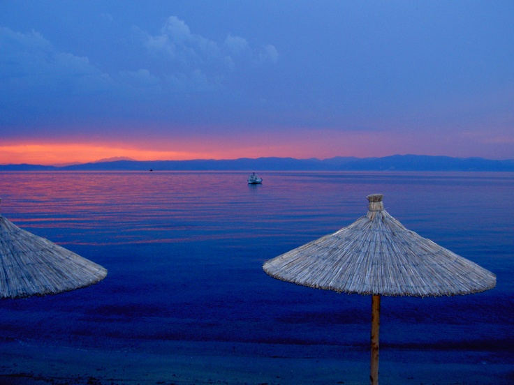 Skala Prinou Sunset, Thassos