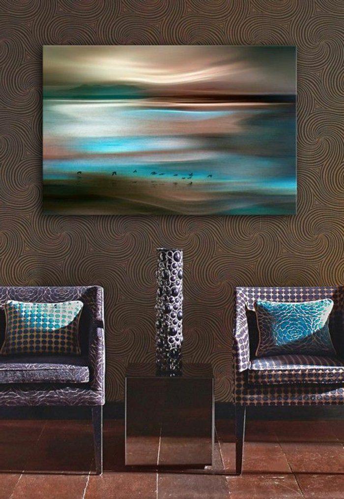 Réaliser une merveilleuse décoration avec l' art abstrait – Archzine.fr