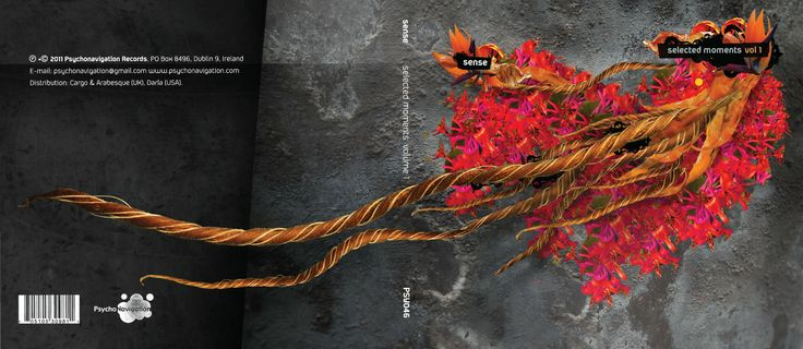 Sense: Selected Moments vol 1 - CD cover for Psychonavigation Records.