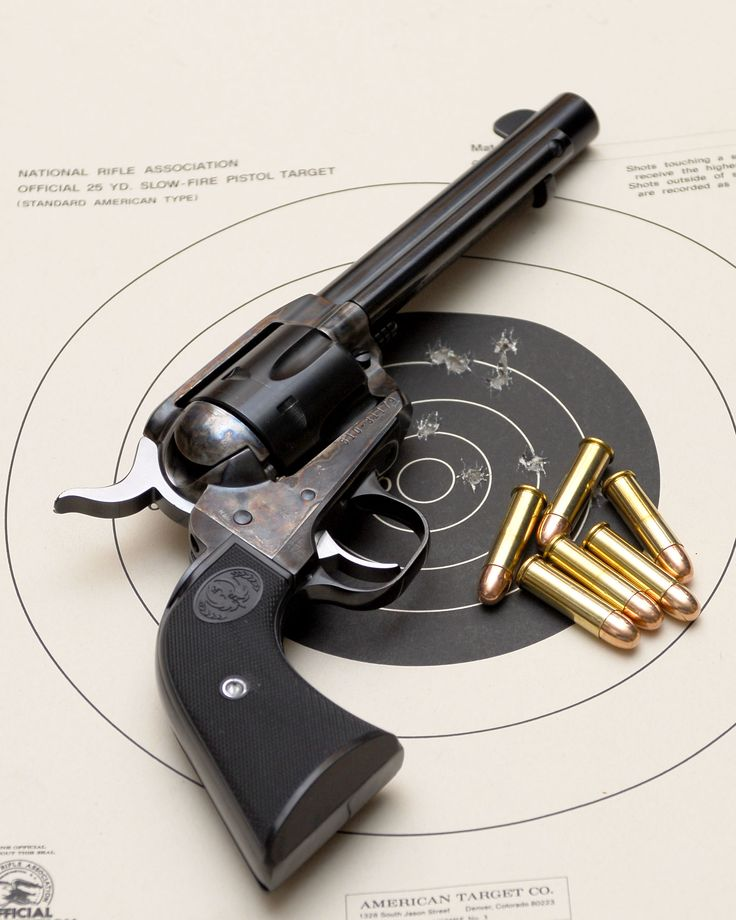 Ruger Vaquero , single action, cal. 357 magnum. I like it :)