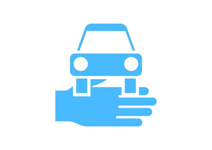 Car Rent Free Vector Icon