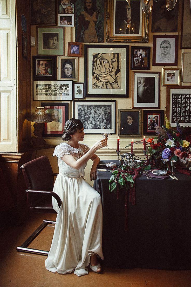 English Gentlemans Club Bridal Glamour