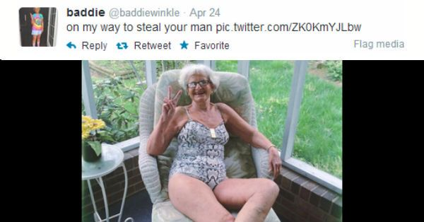 This Old Granny Wins At Twitter – 11 Pics