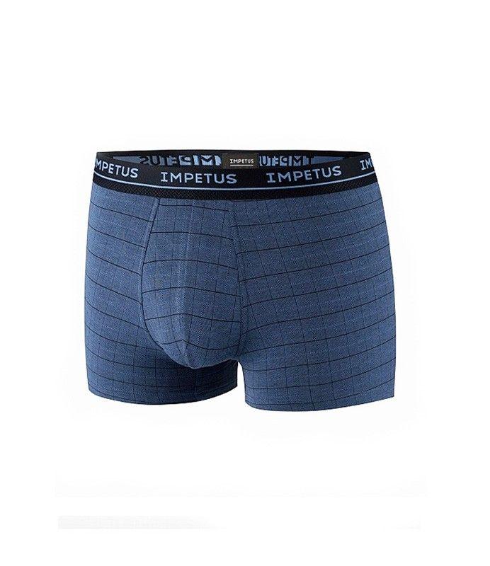 Nuevo boxer de Impetus en Modal en tonos azules. Muy suave y transpirable, en color azul. Envío: 24/48h horas. Más modelos en varelaintimo.com