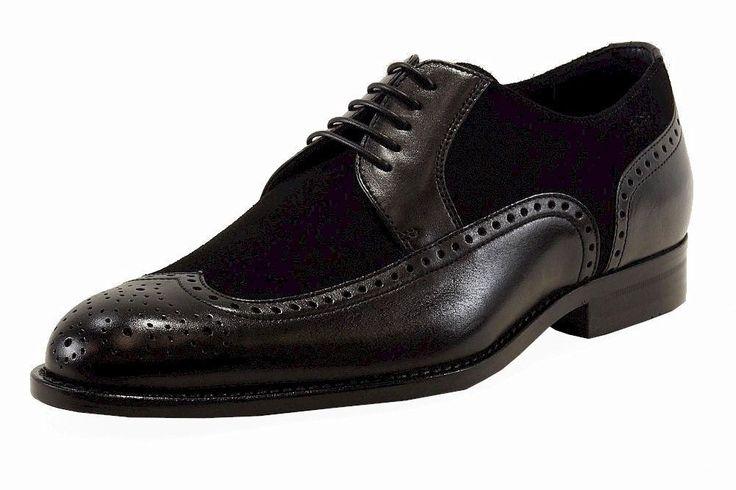 Hugo Boss Men's Branno Black Leather Fashion Oxford Shoes ...