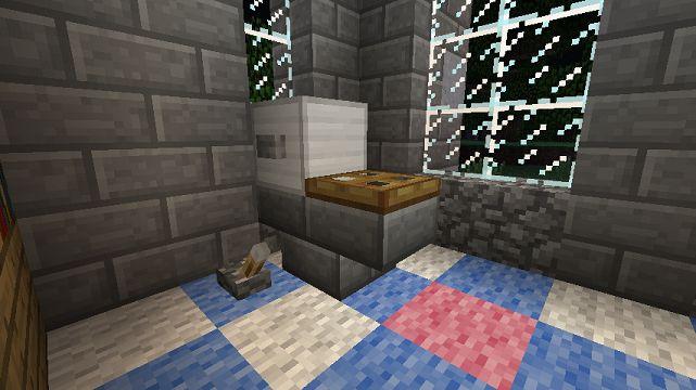 Minecraft Furniture - Bathroom