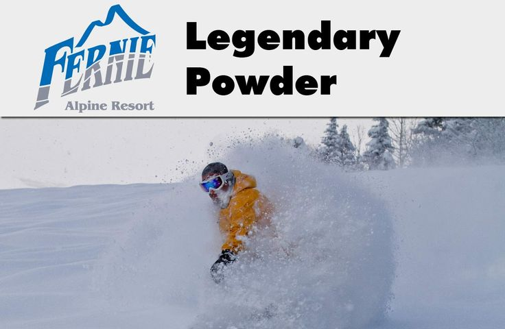Get all the latest events, real time lift updates, early morning snow reports, and more on your portable devices via our mobile website.  Save it to your 'Bookmarks' http://www.skifernie.com/mobile/