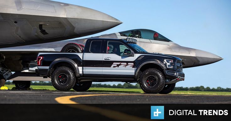 Ford built an F-150 Raptor truck inspired by the F-22 Raptor jet fighter