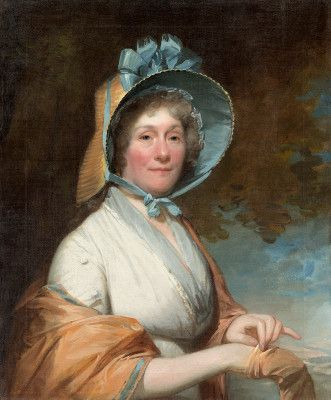 Henrietta Marchant Liston (Mrs. Robert Liston), 1800, by Stuart, Gilbert (painter, American, 1755-1828). National Gallery of Art. 1960.12.1